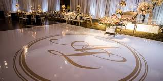 custom wedding floor wraps serving columbus ohio