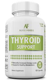 thyroid support supplement with iodine 30 days supply u2013 alice foods