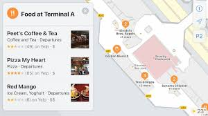 apple u0027s indoor maps for airports and shopping malls in ios 11