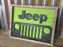 rustic pallet jeep decor jeep sign wood sign jeep grill