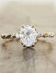 vintage oval engagement rings oval antique engagement rings wedding promise diamond