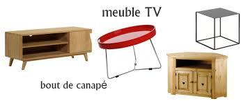 meuble bout de canapé meubles tv bouts de canapé la découverte