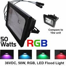 light o rama high power 50w rgb flood