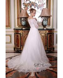 wedding tulle a line the shoulder court tulle wedding dress with