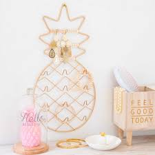 Pineapple Home Decor by Pineapple Home Accessories Ananas Metal Jewellery Stand