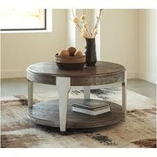 ashley furniture round coffee table t453 8 ashley furniture brenzington round cocktail table
