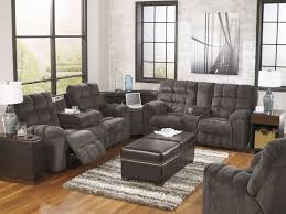 Gray Recliner Sofa Marino 3pcs Modern Gray Chenille Recliner Sofa Sectional Set