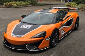 orange mclaren rear agency power carbon fiber rear spoiler 67 inch mclaren 570s