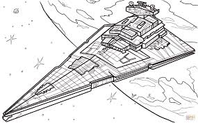 star destroyer coloring page free printable coloring pages