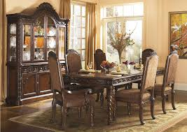 Homestead Furniture North Shore Extension Table W Upholstered - North shore dining room