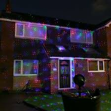 green outdoor christmas lights red green blue laser light projector with remote control