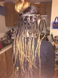 How To Dread Hair Extensions by Lace Front Silver Ombre Synthetic Dreadlock Wig Synthetic Dreads