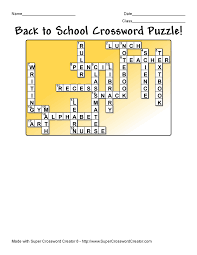 printable easy crossword puzzles with solutions make crossword puzzles with super crossword creator super
