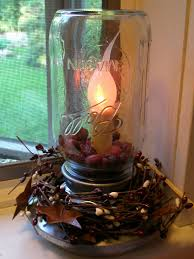 primitive crafts karen u0027s world craft mason jar feeder light