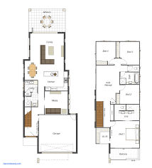 narrow lot house plans home plans for small lots inspirational narrow lot house plans