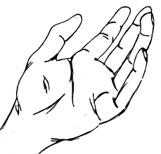 hand sketch clipart clipart collection giving hands clip art