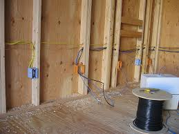 adding electrical wiring to an outdoor shed wt landscape