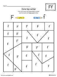 uppercase letter f color by letter worksheet letter f letter