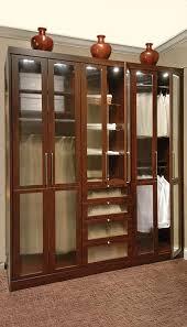 Custom Glass Closet Doors Closet Wardrobe Styled As Stand Alone Closet With Glass Closet Doors