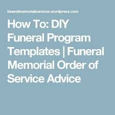 Funeral Bulletin Templates Best 25 Memorial Service Program Ideas On Pinterest Funeral