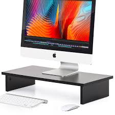 Computer Desk Stand Wood Computer Desk Desktop Riser Stand For Home Office Desk