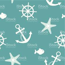 a beach themed real background featuring sea items stock vector