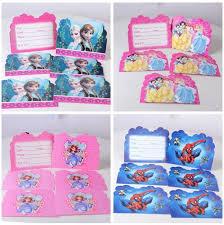 6 styles cartoon sophia cinderella theme party supplies girls