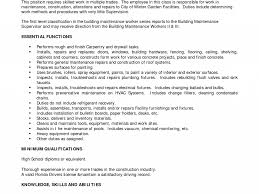 Building Maintenance Worker Resume Construction Foreman Resume Examples Resume For Your Job
