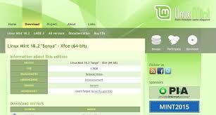 environnement bureau linux linux mint 18 2 avec l environnement de bureau xfce
