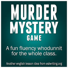 Halloween Murder Mystery Party Ideas by Esl Speaking Murder Mystery Game Eslwriting Org