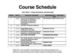 new media slides for half of fall 2014