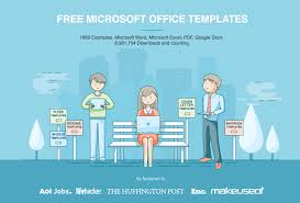 Ms Word Business Letter Template Free Microsoft Office Templates By Hloom Com