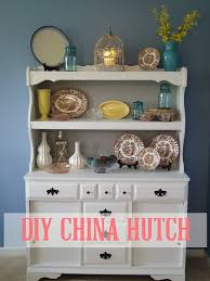Diy Hutch How To Paint Laminate Furniture Diy China Hutch Addison