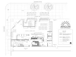 Avalon Floor Plan by Downtown Detroit U0027s New Avalon Cafe Aims To Be A Fast Healthy