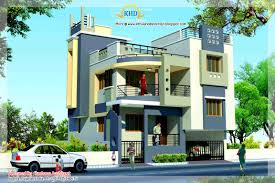 Duplex Building by Duplex House Plan And Elevation 1770 Sq Ft Home Appliance