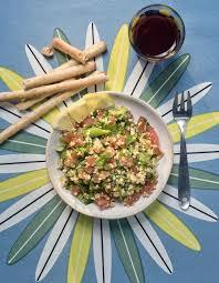 cuisine libanaise recette taboulé libanais au boulgour pour 4 personnes recettes à table