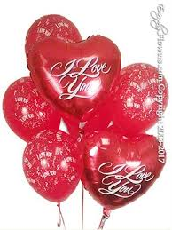 heart balloon bouquet i you foil balloon bouquet delivery by everyday flowers
