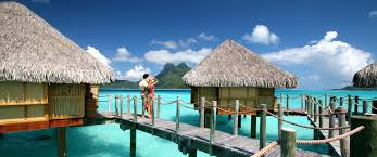 Paradise Pearl Bungalows Bora Bora Honeymoons Beaches U0026 Overwater Bungalows