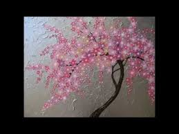 cherry blossom painting by painted fingers how to paint a cherry