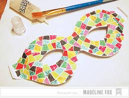 mardi gras mask decorating ideas american crafts studio glitter mardi gras mask tutorial by