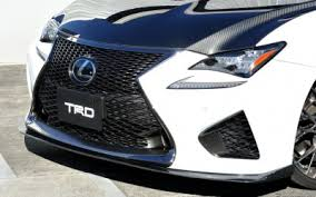 lexus performance parts photo gallery the lexus rc f circuit sports parts from trd