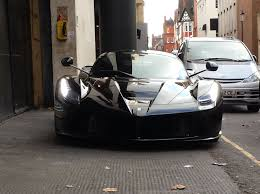 all black ferrari black ferrari laferrari in london part 1 youtube
