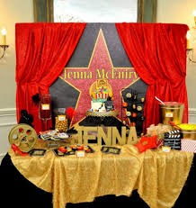 hollywood theme party 10 year old hollywood theme party and the