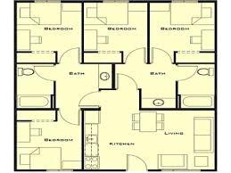 Little House Plans Free Small House Plan 4 Bedroom Nurseresume Org