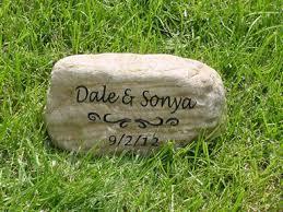 memorial rocks personalized memorial garden stones and engraved river rock garden