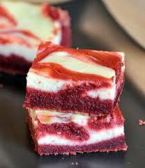 red velvet cheesecake brownies baking bites