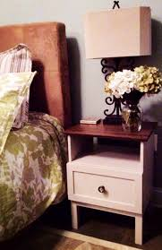 Bed Table Ikea by Ikea Hacks 50 Nightstands And End Tables