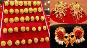 design of gold earrings ear tops gold ear studs designs ear tops designs in gold with