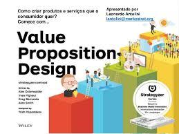 design foto livro value proposition design apresentação em português