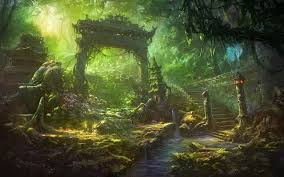 anime wallpaper hd anime fantasy landscape wallpaper phone at